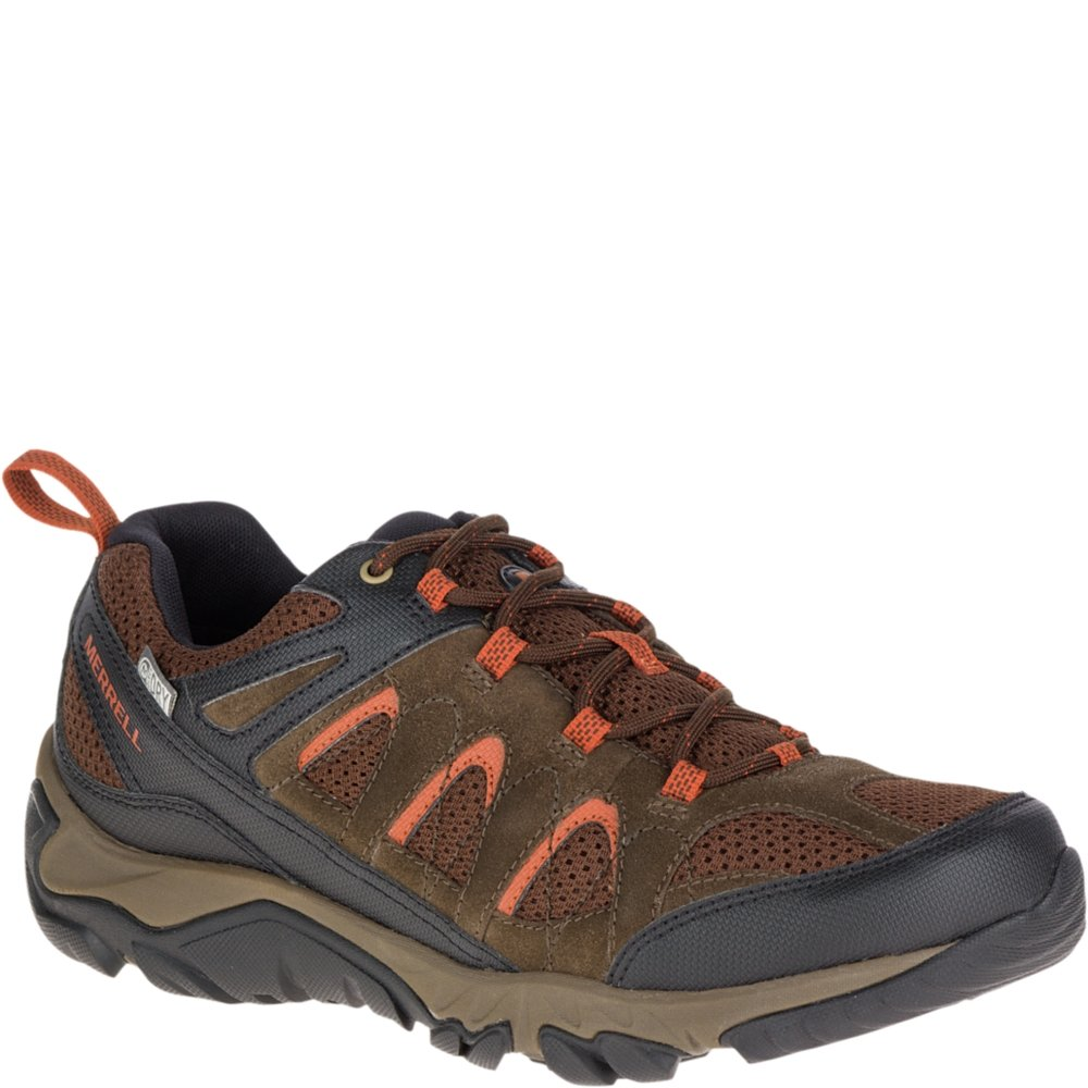 Merrell Men's Outmost Vent Waterproof Hiking Shoe B0721NZW62 8 2E US|Slate Black
