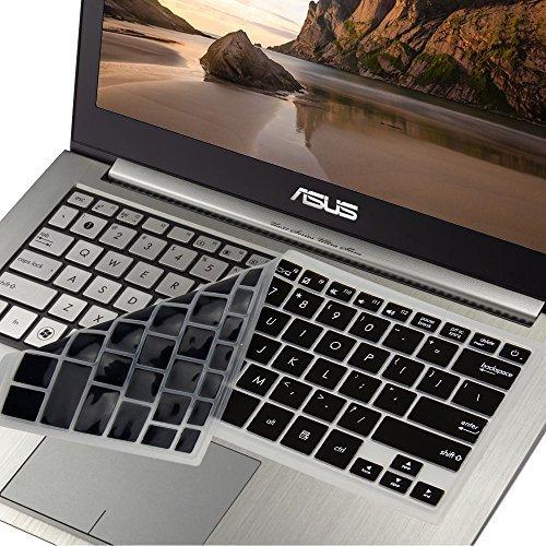 GMYLE ブラックシリコンキーボードカバーAsus ZenBook UX31 / 32專用 (USレイアウト) B016B1GA6Y