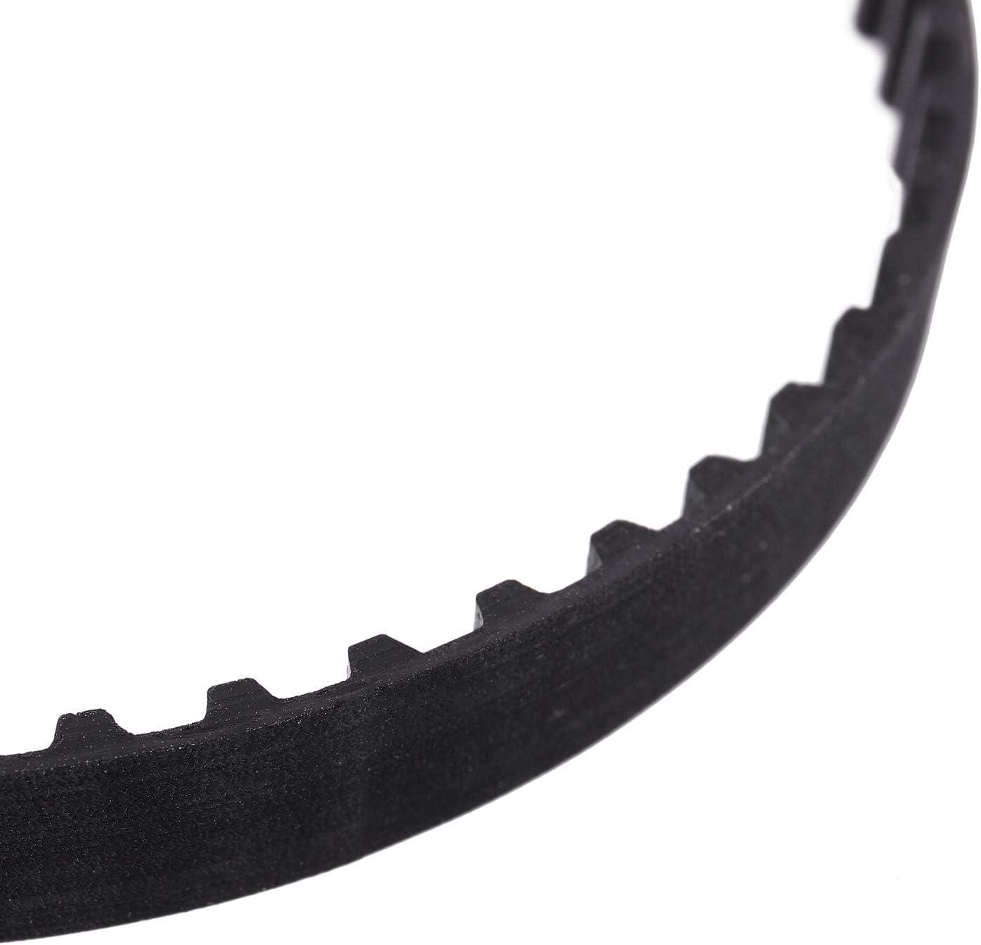 Yebobo 106XL 031 53 Teeth 7.9mm Width Rubber Drying Machine Timing Belt Black