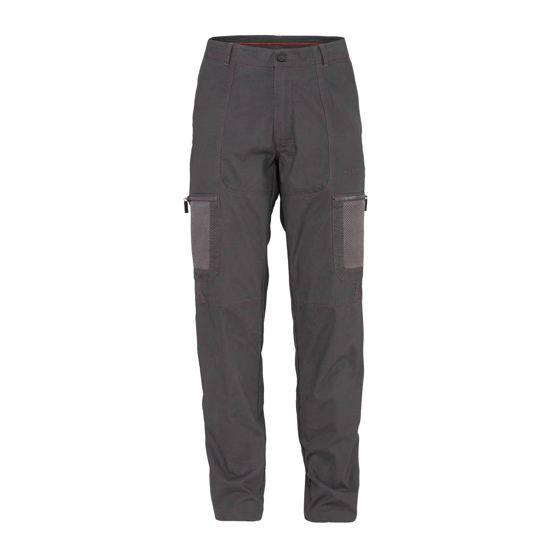 Jeep Man Hose W MESH Taschen J4 W, grau (Dark Grau), 54