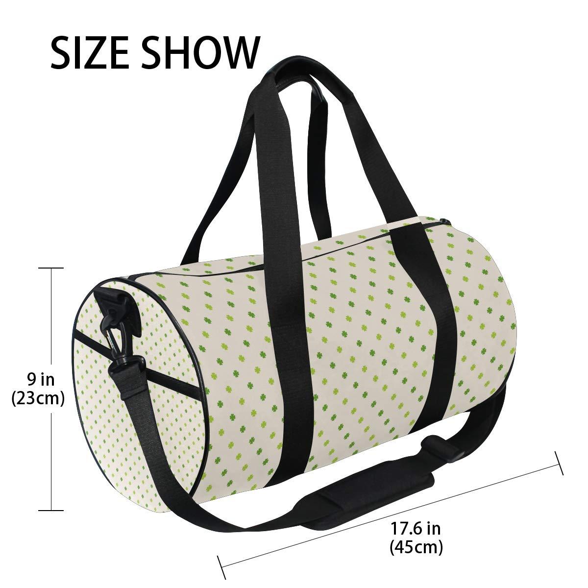 MALPLENA Pretty Rhombus Pattern Drum gym duffel bag women Travel Bag