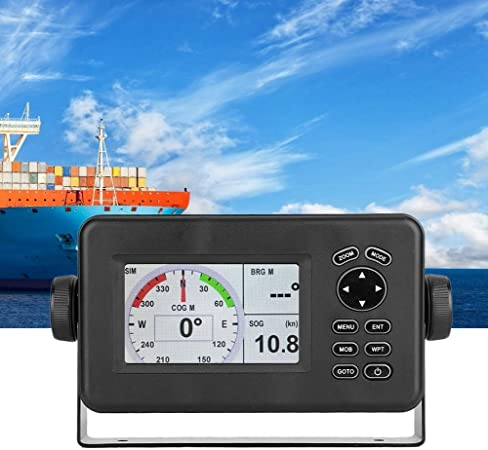Marine Navigator, 4.3 pulgadas LCD Combo Marine GPS Navigator Transceptor de pantalla Multi-pantalla: Amazon.es: Coche y moto