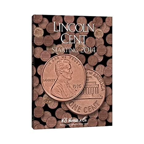 1 Lincoln Penny 4 Book Set 1909 Present At Amazon S Collectible Coins Store