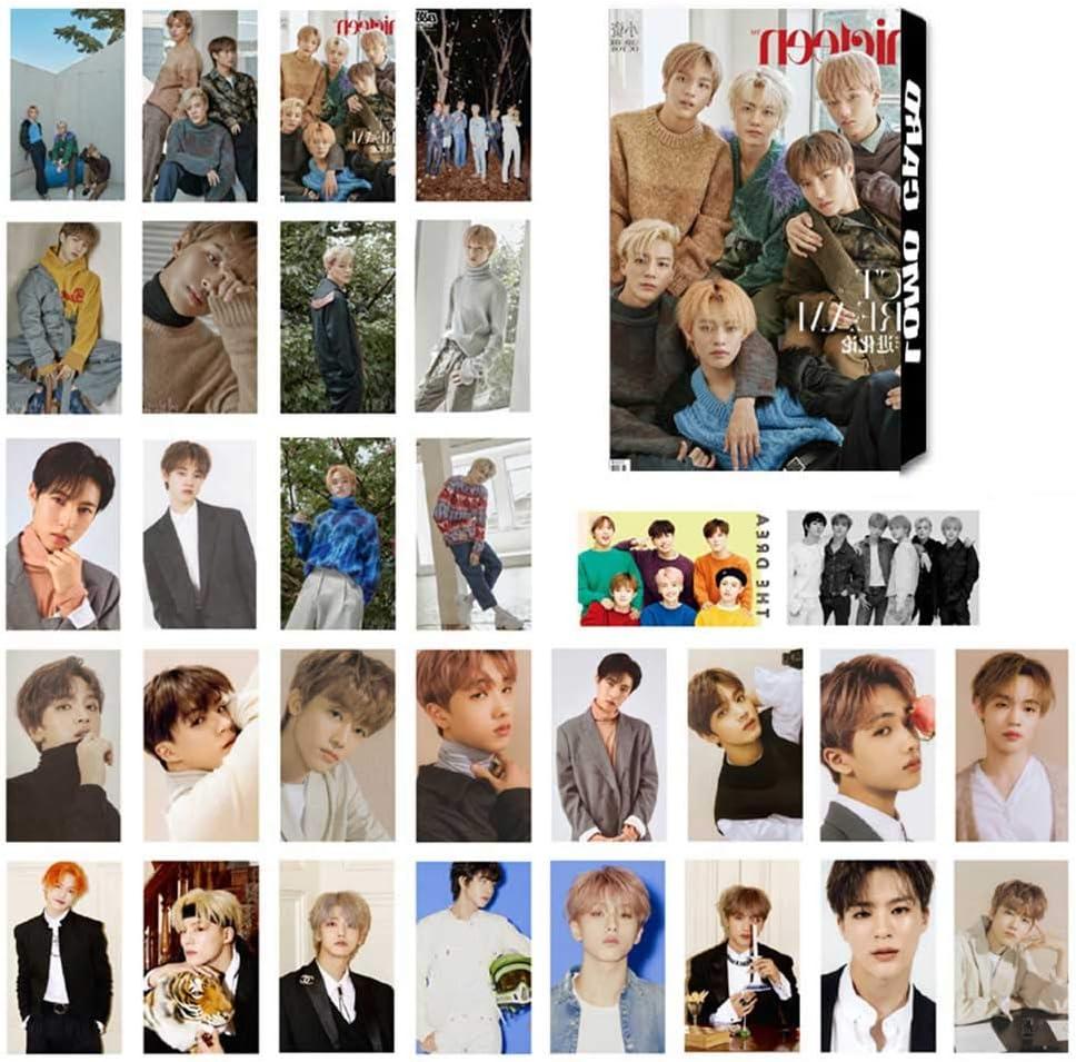 per confezione Scegli il tipo 1 unit 30 pezzi//set di foto Zhenzhiao Kpop Blackpink TXT Seventeen NCT NCT Sogno NCT 127 GIDLE Super Junior Mini Phoo Card Poster Lomo Card