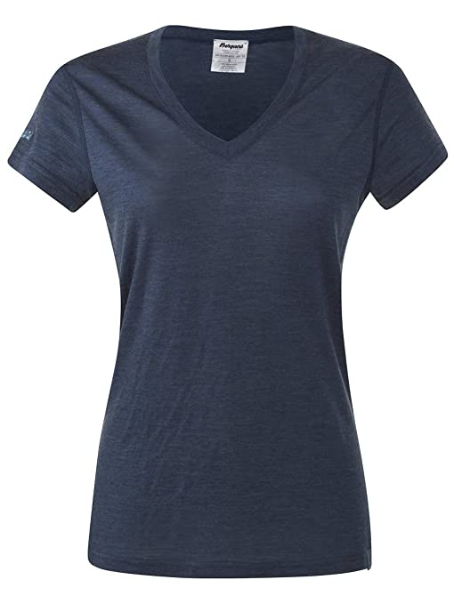 Bergans - T-shirt - Unisex - Adulto Blu navy melange/bleu XS