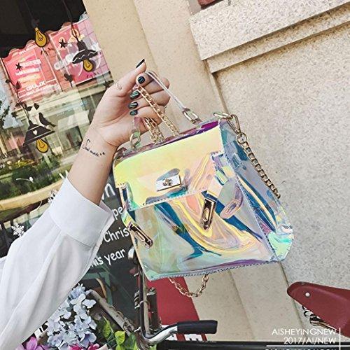 Sac Sac bandoulière La à De FéMinine Sacs Crossbody épaule Sac à Messenger sac Boucle métal Main Carré en Ceinture Des gelée Cuir zycShang corps Mode Femmes d00Ypx7n