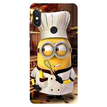 f83bdd4e9bb Msc Chef Minion Hard Polycarbonate Designer Back Case  Amazon.in   Electronics