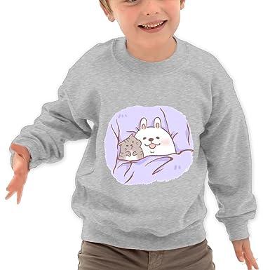 Sleeping Cat Kids Hoodie Sweatshirt