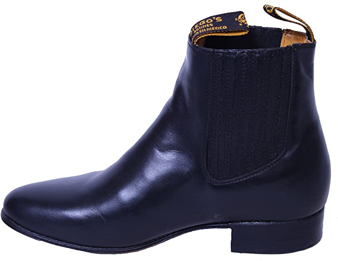 Amazon.com | Mens Leather Classic Dress Ankle Boots sizes 6-12 Brand New | Chelsea
