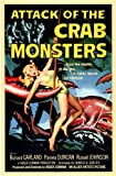 Old Tin Sign Attack Of The Crab Monsters 1957 Classic Vintage Movie Poster MADE IN THE USA