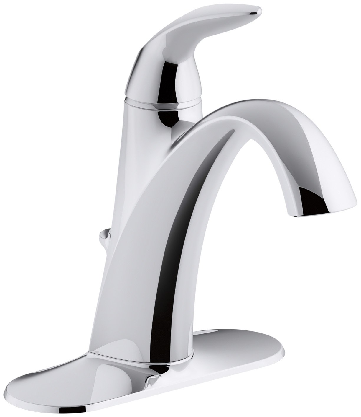 KOHLER K 45800 4 CP Alteo Single Handle Bathroom Sink Faucet, Polished  Chrome     Amazon.com