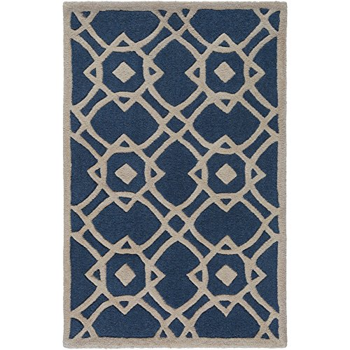 Surya Goa G-5047 Transitional Hand Tufted 100% New Zealand Wool Parchment 3'3
