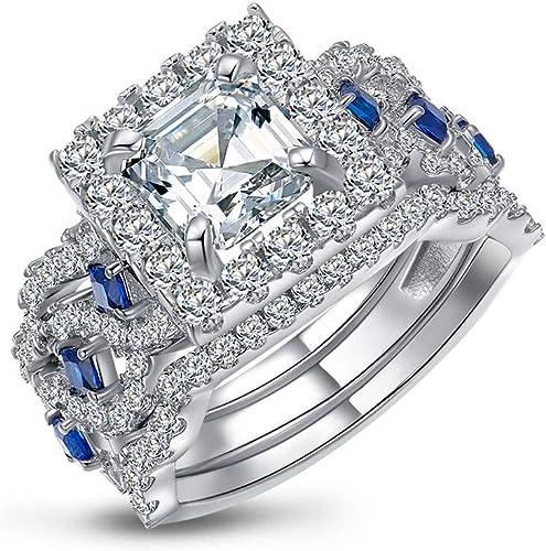 Clothing Shoes Jewelry Women Jeulia Halo Pear Cut Ring Set Cz