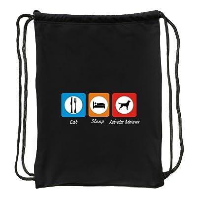Eddany Eat sleep Labrador Retriever Sport Bag