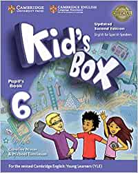 Kid's Box Level 6 Pupil's Book Updated English for Spanish