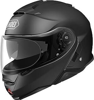 Shoei Casco Convertible Moto Neotec 2 Plain Matt Negro (Xxl, Negro)