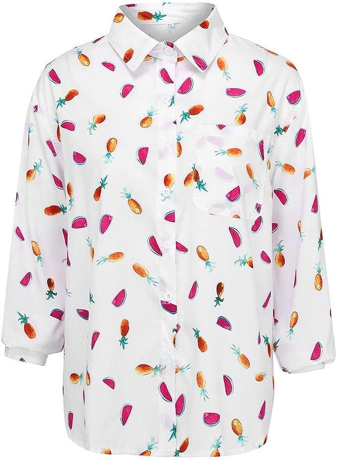 Hokoaidel Camisetas de Mujer Verano Casual Blusa Playera de ...
