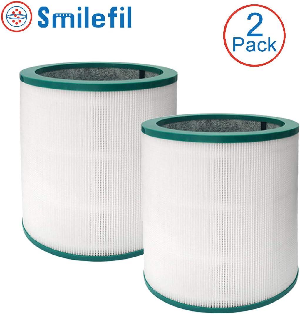 S SMILEFIL Filtro purificador de aire de repuesto compatible con ...