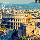 2018 Rome Calendar - 12 x 12 Wall Calendar - With 210 Calendar Stickers