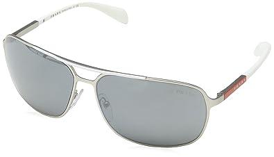 c0e92d76b015 ... low price prada linea rossa mens ps 54os sunglasses silver silver mirror  64mm b414e e941b