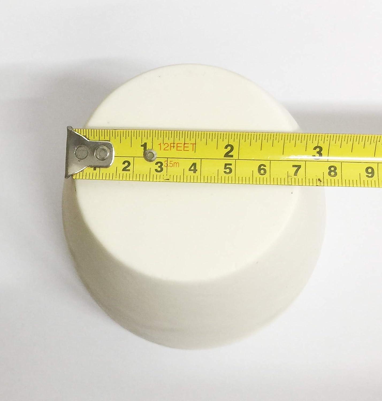 500ml OTOOLWORLD 99.3/% Alumina Crucible Al2O3 Aluminum Oxide Crucible Assay Crucible for Lab Laboratory
