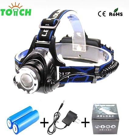 3 Modi Helle 6 LED Kopf Lampe Licht Taschenlampe Scheinwerfer Scheinwerfer R/_yk