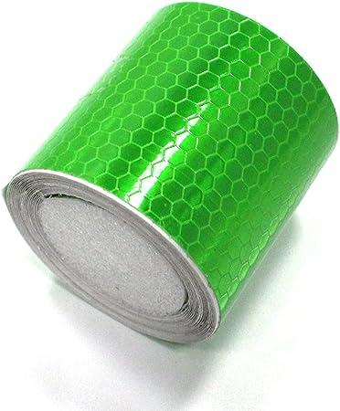Reflektierende Folie Von Muchkey Warnfolie 50 Mm X 3 M Grün 1 Rolle Auto