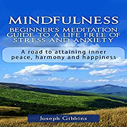 Mindfulness: Beginner's Meditation Guide to a Life Free of Stress and Anxiety