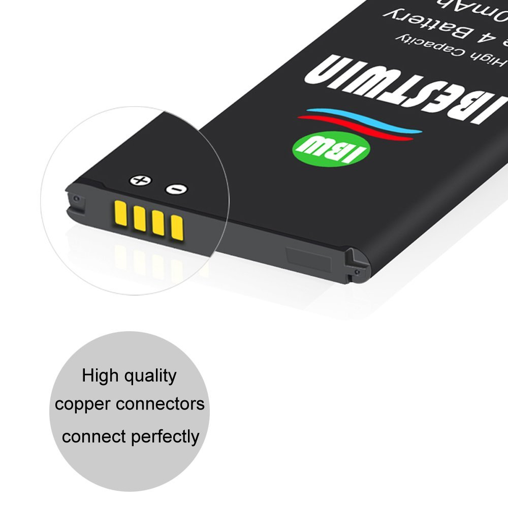 Note 4 Battery IBESTWIN 3300mAh Li-ion Replacement Battery for Samsung Galaxy Note 4 N910, N910V, N910A, N910T, N910P, N910R4, N910U 4G LTE, N910F [3 Years Warranty] by IBESTWIN (Image #4)