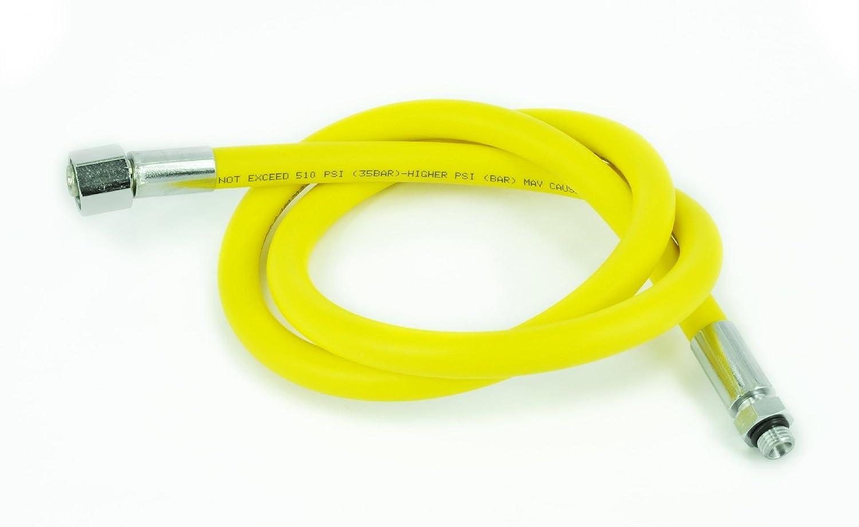 3//8/M jaune 210/cm 9//16/F Best Divers FLEXIBLE Standard//caoutchouc Octopus