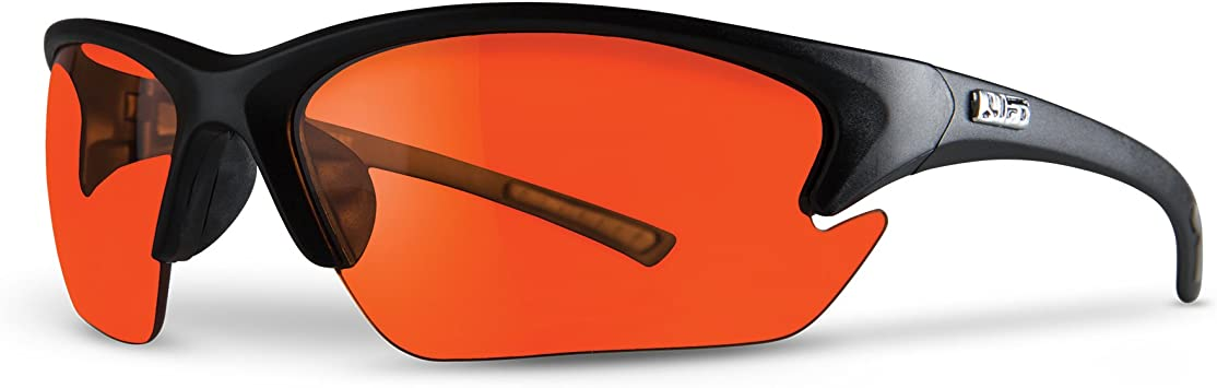 Camo Frame//Amber Lens LIFT Safety Quest Safety Glasses