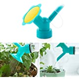 SMYLLS Dual Sided Bottle Watering Can Spout Cap Conveter Garden Tools (Green)