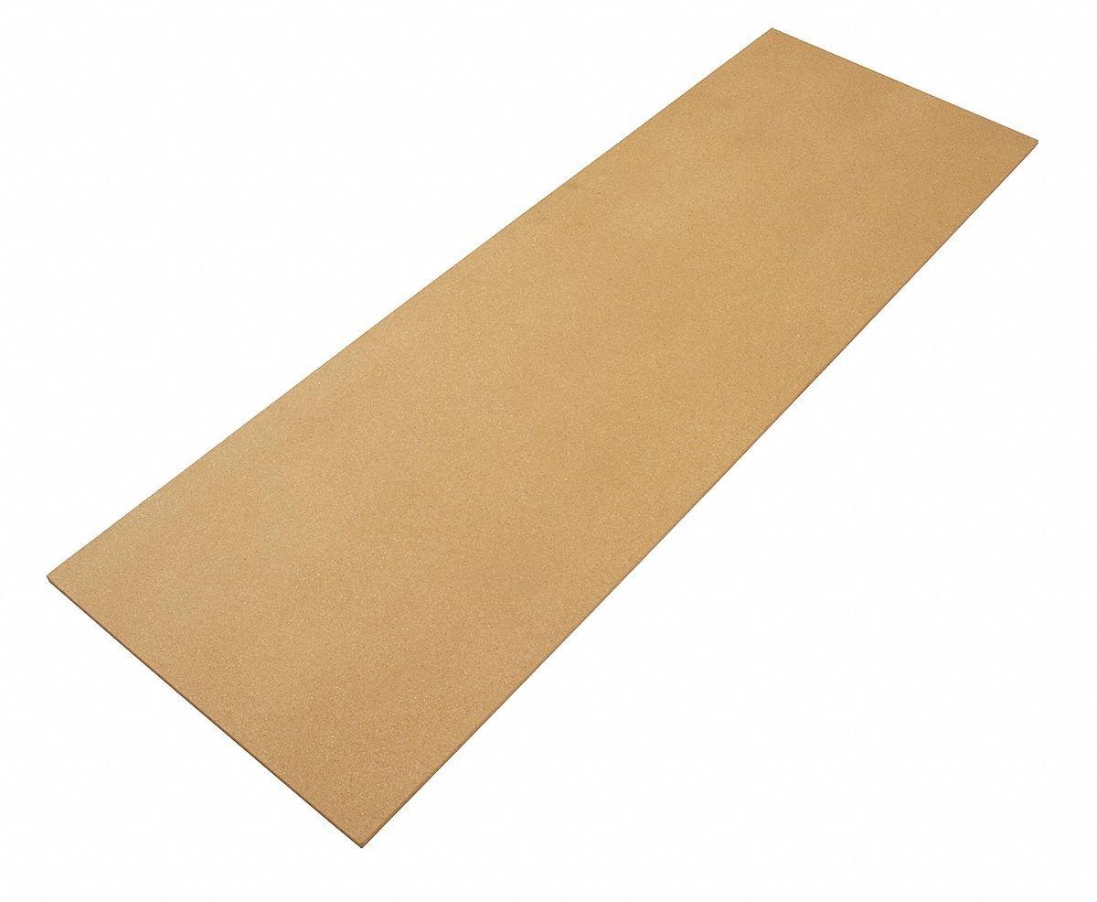 Edsal Manufacturing, Optional Wood Deck, Hrlpb3672, Size W X D: 36X72, Wt. (Lbs.): 44, Rlpb3672