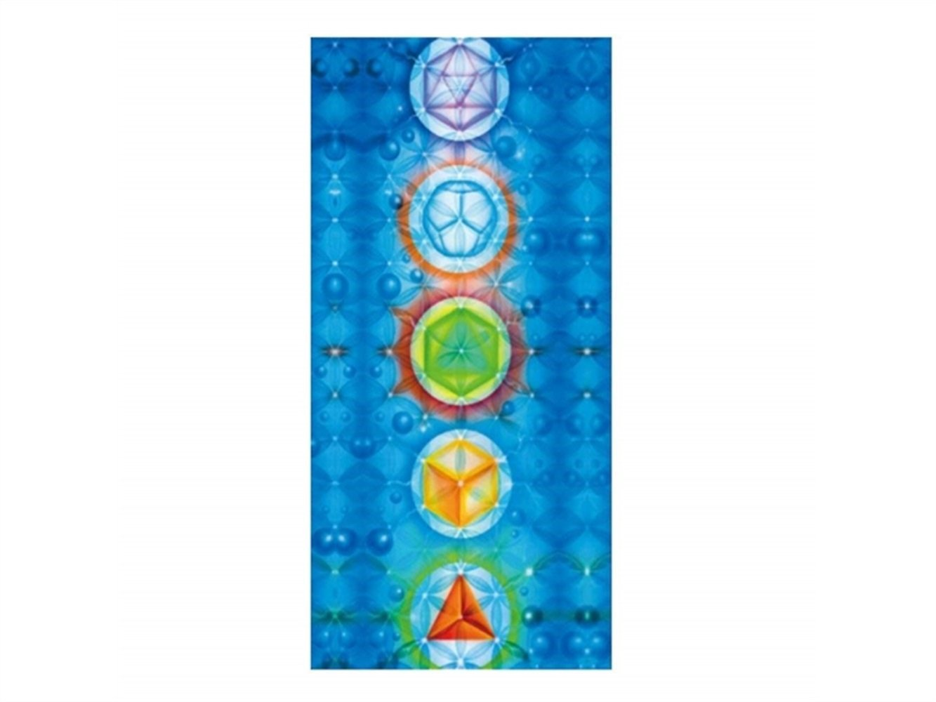 Wesource Activates Rainbow Patterns Printed Beach Towel Lightweight Blanket (150x75cm) (Color : As shown, Size : One size)