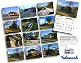 Those Remarkable Trains 2016 Calendar 11x14