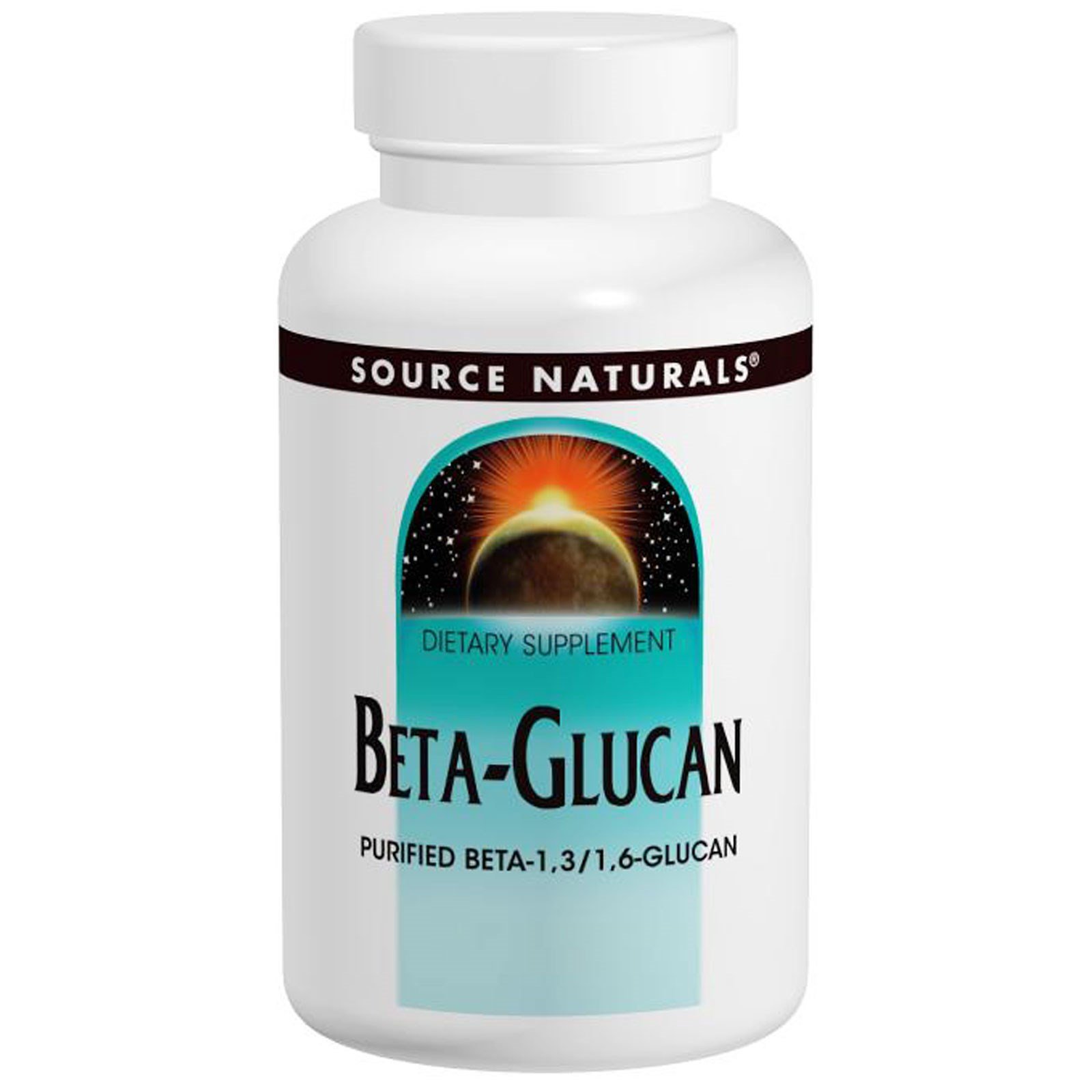 Source Naturals, Beta Glucan, 100 mg, 30 Capsules - 3PC