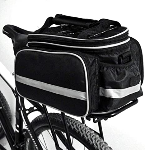 LeKing Alforja para Bicicleta, Impermeable, multifunción, portátil ...