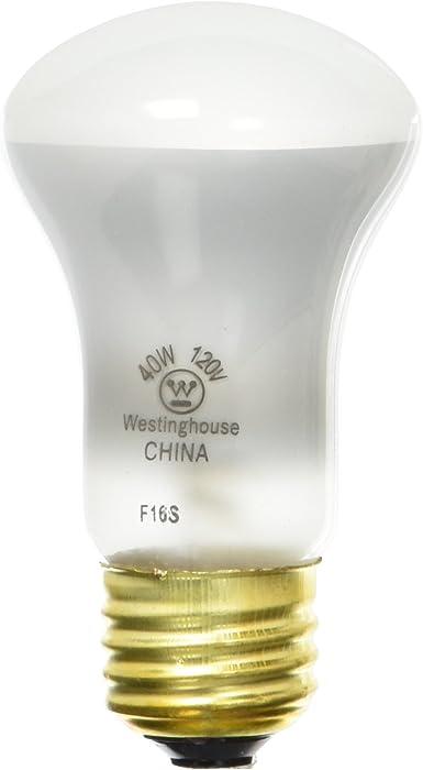 Westinghouse Lighting 0362700 Westinghouse 03627-40R16/SP-40 Watt R16 Incandescent Spot Light Bulb, 1 Pack, As Shown