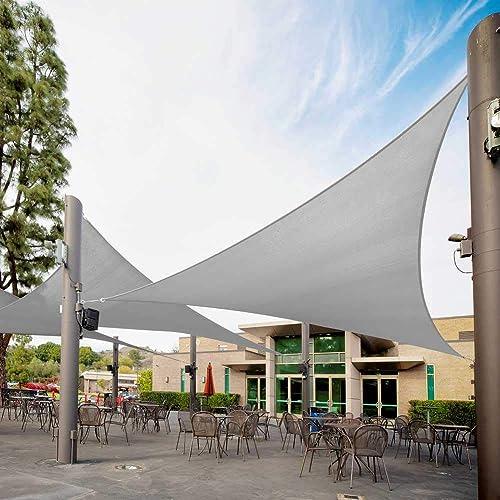 Royal Shade Right Triangle 24 x 24 x 33.9 Grey Custom Size Order to Make Sun Shade Sail RTAPT20 Canopy Mesh UV Block Triangle – Commercial Standard Heavy Duty – 200GSM – 5 Years Warranty