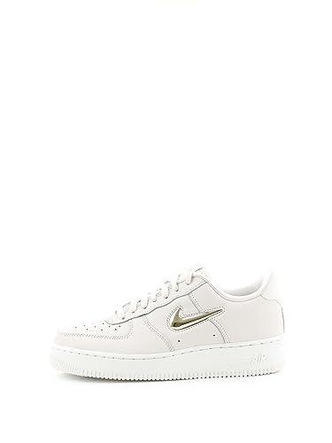 e56e8280d921ad Nike Damen WMNS Air Force 1  07 PRM Lx Sneakers Mehrfarbig (Phantom MTLC