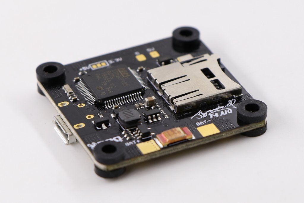 Amazon.com: Bardwell F4 Flight Controller - AIO FC BY RDQ W/OSD 3-6S for FPV Racing Drone Quadcopter: Toys & Games