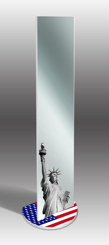 Lupia Specchio da terra con riproduzione artistica 40x160 cm MIRROR ORIGINAL LIBERTY