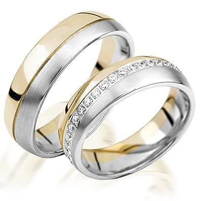 alianzas de oro Anillos de Compromiso en oro 333 alianzas Oro Amarillo 6 mm de ancho