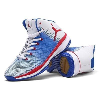 2018 Nouvelles Chaussures de Basket-Ball de Printemps Chaussures de Basket-Ball D'Automne Haut-Bas Sneakers Anti-Dérapant Résistant à L'Usure