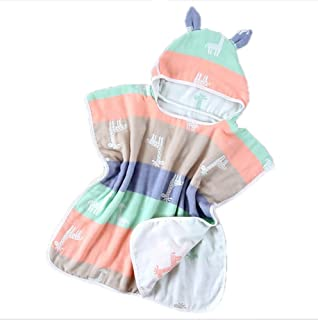 Toalla de bebé súper suave Toalla de playa con capucha Ducha de baño Manta de toalla de playa…