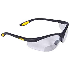 DeWalt DPG59-120D Reinforcer Rx SAFETY Glasses - Clear Lens 2.0 (1 Pairper Pack)