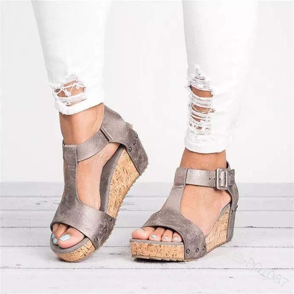 Damen Sandaletten Gladiator Riemchensandalen Flats Lace up Bogen Sommer Sandalen