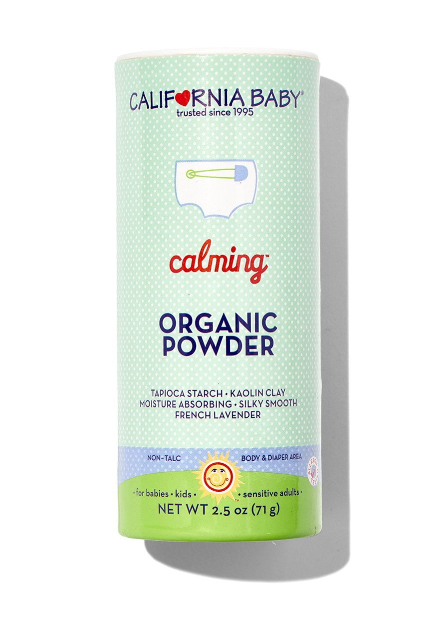 California Baby Non-Talc Powder, Canister - Calming, 2.5-Ounce 506-2.5