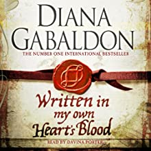 Written in My Own Heart's Blood: Outlander, Book 8 Audiobook by Diana Gabaldon Narrated by Davina Porter