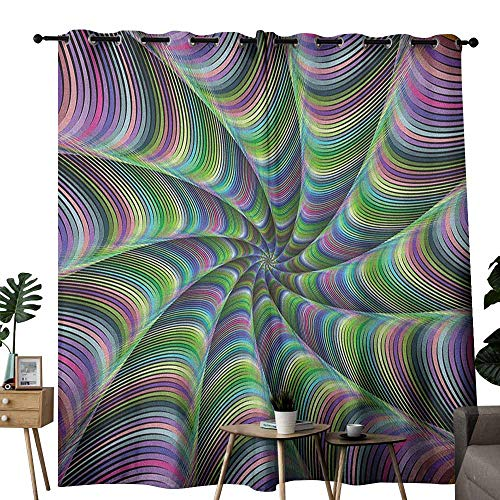 Curtain Call Costumes Order Form - duommhome Fractal Polyester Curtain Psychedelic Tentacles